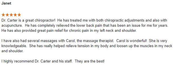 Chiropractic Peoria IL Review 4